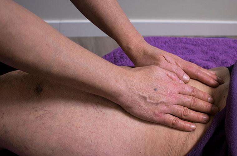 masaje para circulacion
