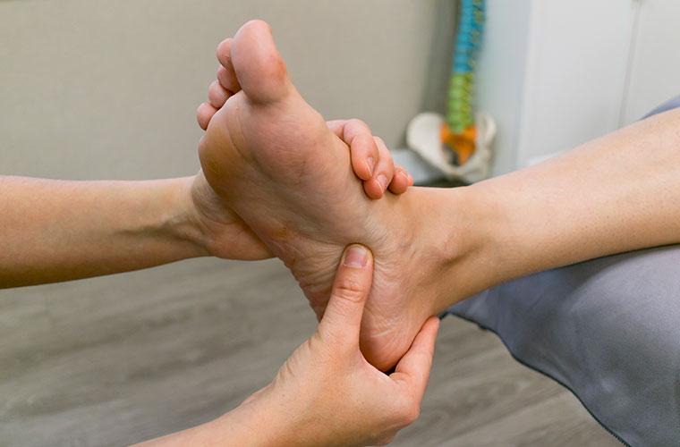 técnicas reflexología podal