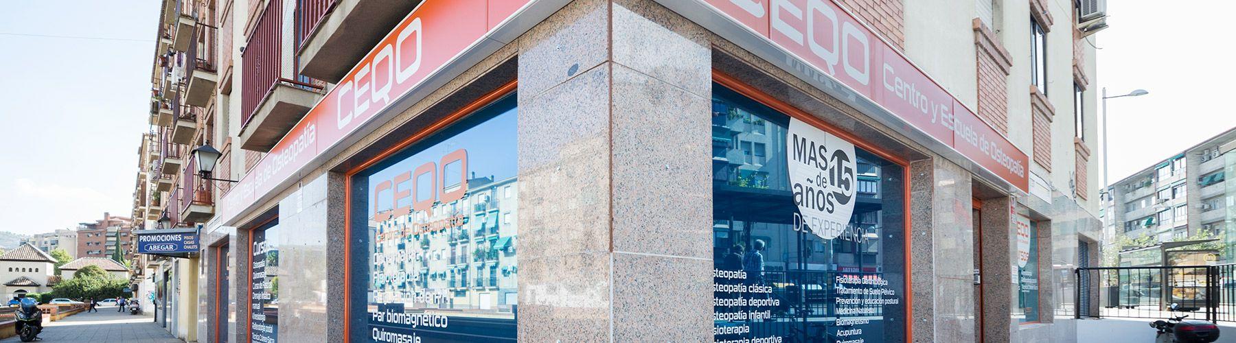 fachada centro ceqo en granada